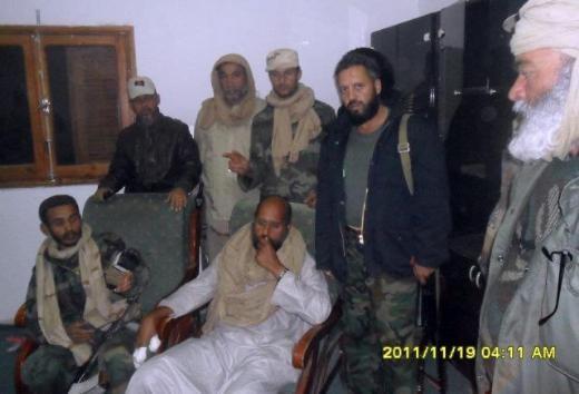 Kaddafinin veliahtı da yakalandı galerisi resim 1