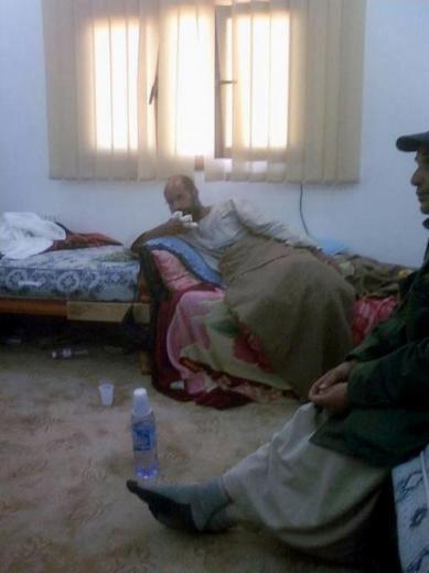 Kaddafinin veliahtı da yakalandı galerisi resim 12