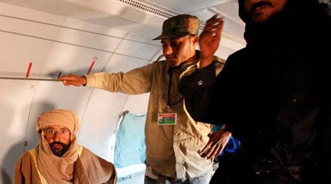 Kaddafinin veliahtı da yakalandı galerisi resim 14