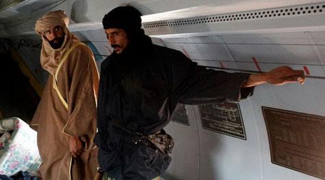 Kaddafinin veliahtı da yakalandı galerisi resim 16