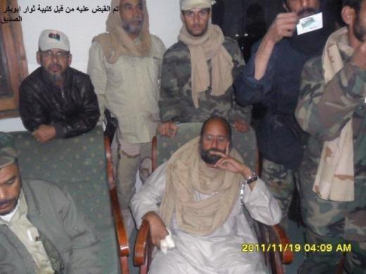 Kaddafinin veliahtı da yakalandı galerisi resim 2