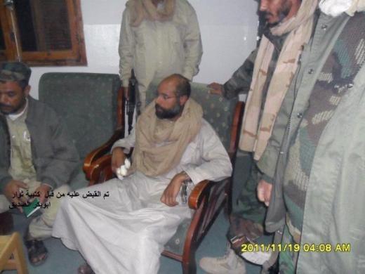Kaddafinin veliahtı da yakalandı galerisi resim 4