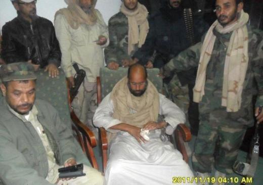 Kaddafinin veliahtı da yakalandı galerisi resim 6