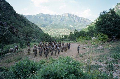 Time fotoğrafçısı PKK kampında galerisi resim 9