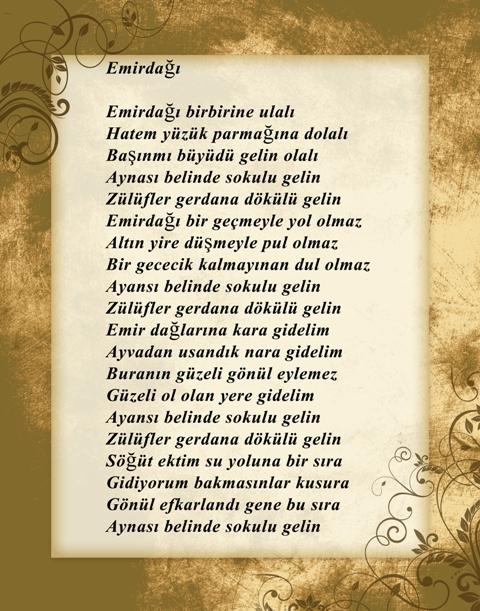 Konya türküleri-şarkıları galerisi resim 12