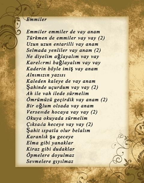Konya türküleri-şarkıları galerisi resim 13