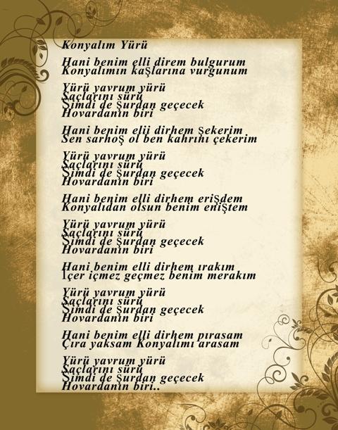 Konya türküleri-şarkıları galerisi resim 16