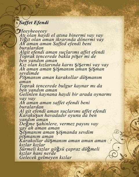Konya türküleri-şarkıları galerisi resim 17