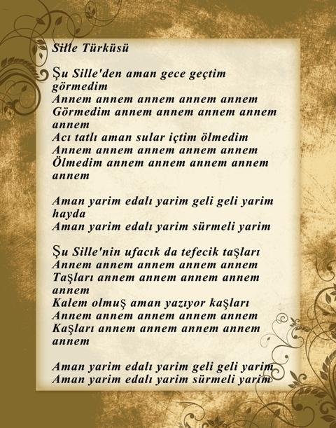 Konya türküleri-şarkıları galerisi resim 19