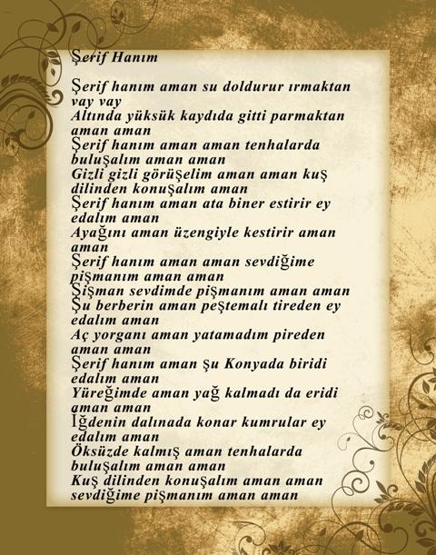 Konya türküleri-şarkıları galerisi resim 22