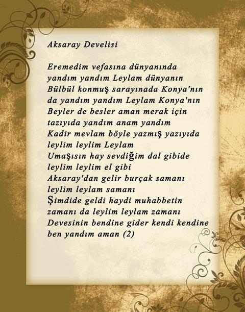 Konya türküleri-şarkıları galerisi resim 7