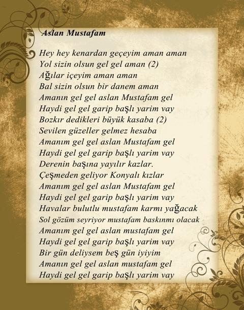 Konya türküleri-şarkıları galerisi resim 9