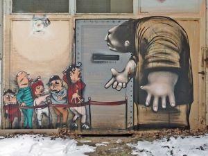 Görenleri Hayran Bırakan Sokak Sanatı