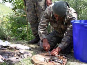 İşte Türk komandosunun yemeği