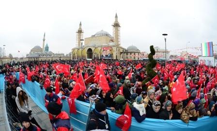 Erdoğan Konyalılarla buluştu galerisi resim 34