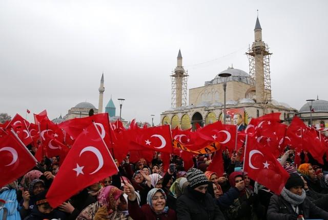 Erdoğan Konyalılarla buluştu galerisi resim 37