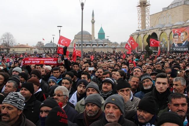 Erdoğan Konyalılarla buluştu galerisi resim 40