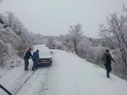 Konya'da kar manzaraları galerisi resim 6