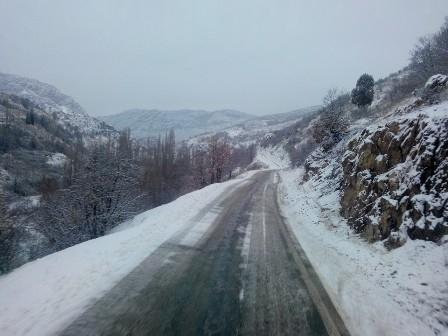 Konya'da kar manzaraları galerisi resim 8