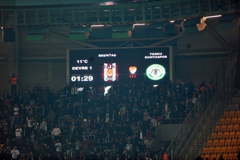 Beşiktaş: 4 - Torku Konyaspor: 0 galerisi resim 12