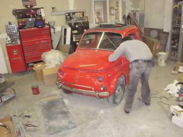 Fiat 500'ü yeniden bakın nasıl yaptı galerisi resim 13