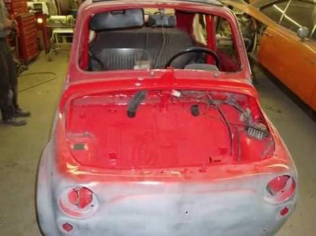 Fiat 500'ü yeniden bakın nasıl yaptı galerisi resim 36