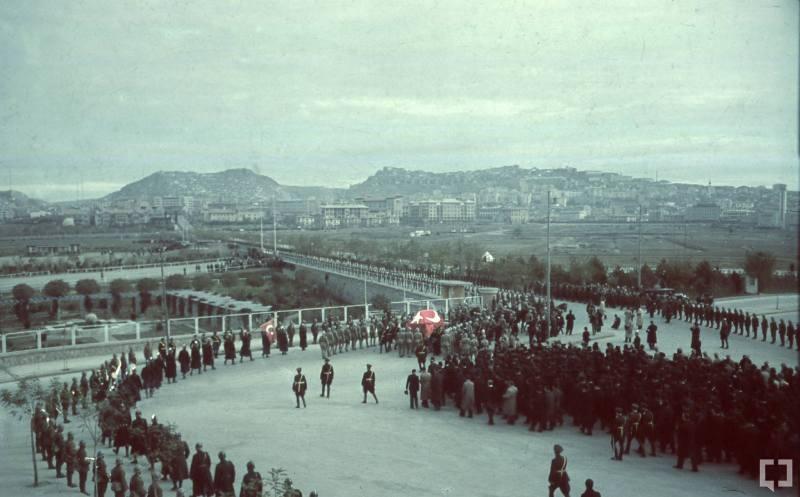 Atatürk'ün naaşının orjinal nakil fotoğrafları galerisi resim 1