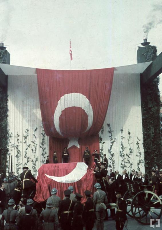 Atatürk'ün naaşının orjinal nakil fotoğrafları galerisi resim 6