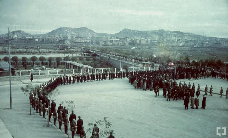 Atatürk'ün naaşının orjinal nakil fotoğrafları galerisi resim 9