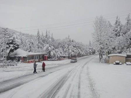 Konya ve çevresinde kartpostallık kar görüntüleri galerisi resim 1