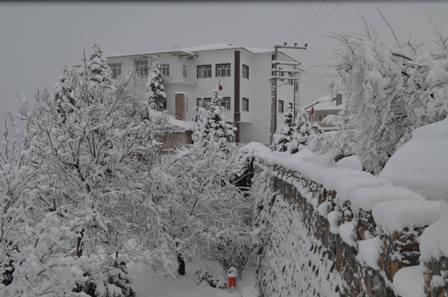 Konya ve çevresinde kartpostallık kar görüntüleri galerisi resim 10