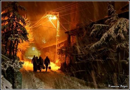 Konya ve çevresinde kartpostallık kar görüntüleri galerisi resim 11