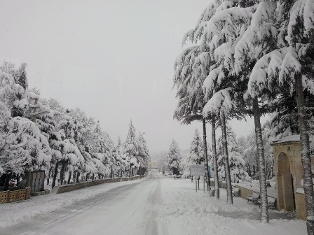 Konya ve çevresinde kartpostallık kar görüntüleri galerisi resim 14
