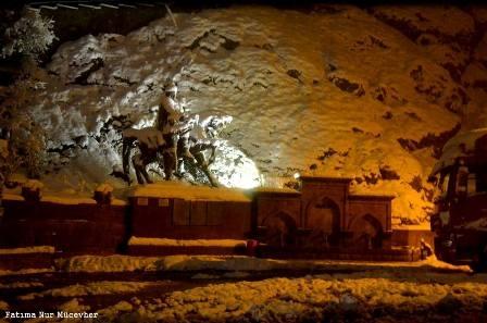 Konya ve çevresinde kartpostallık kar görüntüleri galerisi resim 15
