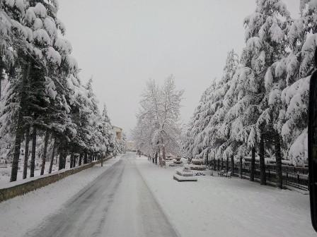 Konya ve çevresinde kartpostallık kar görüntüleri galerisi resim 16