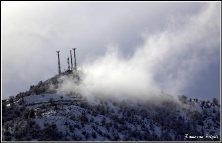 Konya ve çevresinde kartpostallık kar görüntüleri galerisi resim 17