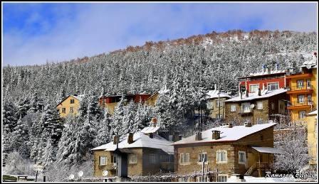 Konya ve çevresinde kartpostallık kar görüntüleri galerisi resim 18