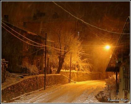 Konya ve çevresinde kartpostallık kar görüntüleri galerisi resim 19