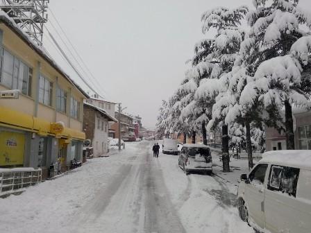 Konya ve çevresinde kartpostallık kar görüntüleri galerisi resim 2