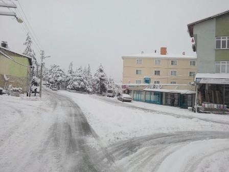 Konya ve çevresinde kartpostallık kar görüntüleri galerisi resim 20