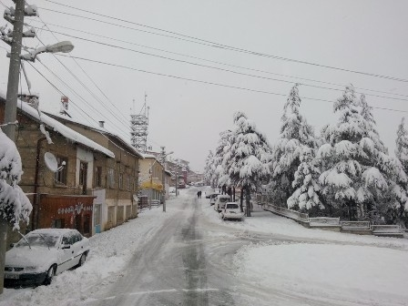 Konya ve çevresinde kartpostallık kar görüntüleri galerisi resim 21