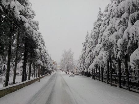 Konya ve çevresinde kartpostallık kar görüntüleri galerisi resim 22