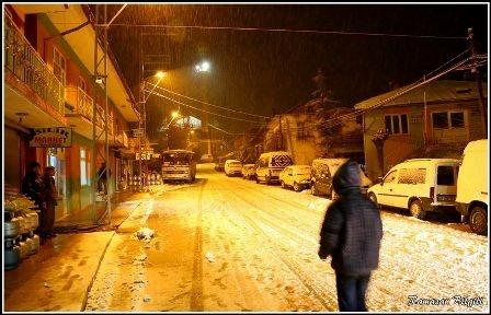 Konya ve çevresinde kartpostallık kar görüntüleri galerisi resim 23