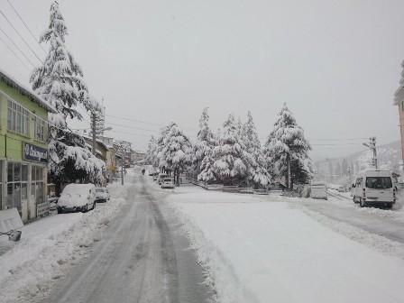Konya ve çevresinde kartpostallık kar görüntüleri galerisi resim 24