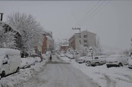 Konya ve çevresinde kartpostallık kar görüntüleri galerisi resim 26