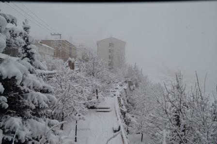Konya ve çevresinde kartpostallık kar görüntüleri galerisi resim 29