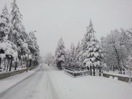 Konya ve çevresinde kartpostallık kar görüntüleri galerisi resim 3
