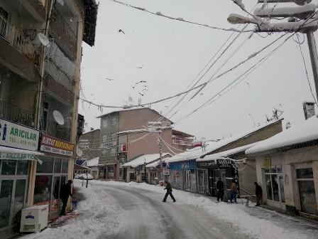 Konya ve çevresinde kartpostallık kar görüntüleri galerisi resim 4
