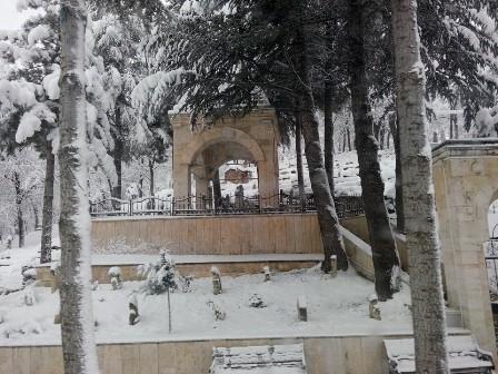 Konya ve çevresinde kartpostallık kar görüntüleri galerisi resim 5