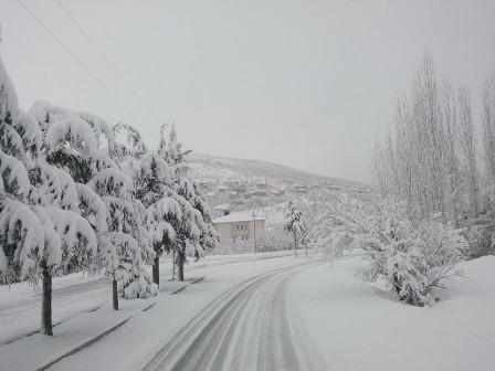 Konya ve çevresinde kartpostallık kar görüntüleri galerisi resim 7